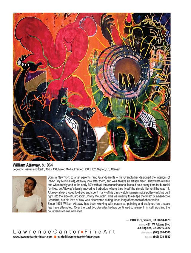 Attaway Fine Art ArtNews June Advertisement